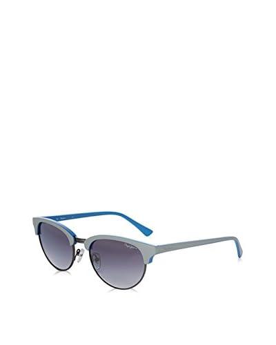 Pepe Jeans Gafas de Sol Pj7198C252 (52 mm) Gris / Azul