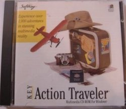Action Traveler Multimedia Cd-rom for Windows
