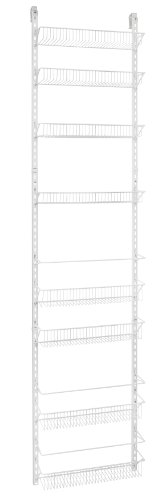 ClosetMaid Adjustable 8-Tier Wall and Door Rack, 18-Inch