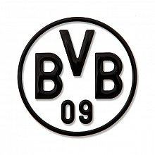 AUTO AUFKLEBER STICKER BORUSSIA DORTMUND BVB schwarz