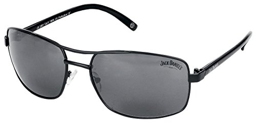 Jack Daniel's Sunglasses matt black/black tips/smoke Bioworld
