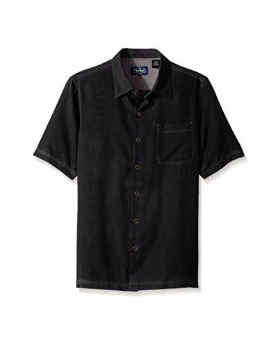 Nat Nast Men's Tangier Cloth Silk Solid Shirt