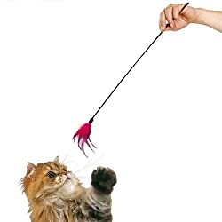 Kong Feather Stick Cat Toy