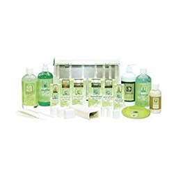 Clean + Easy Professional Waxing Spa Full Service Kit, 20 Count