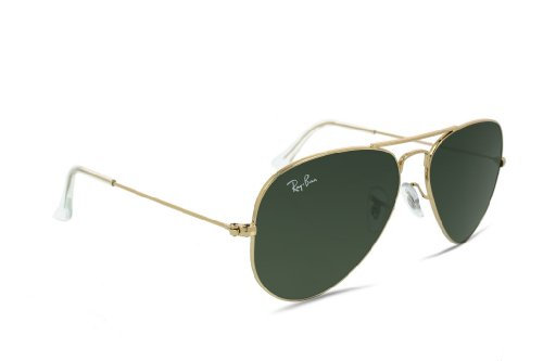 Ray Ban Rb3025 W3234 Sunglasses Gold Frame / G15 Green Non-Polarized Lenses - Small Size