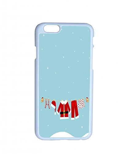 Christmas Clothes Stocking Hat Hanging On String Hard Top Quality Plastic Cover Protector Sleeve Case For Iphone 6 Plus 5.5 Inches Inches front-798063