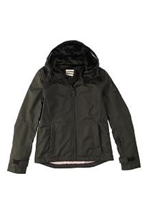 Quiksilver Women's LOUISE JKT-Snow Jackets - Grey, Large