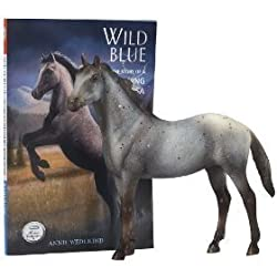 BREYER HORSES WILD BLUE CLASSICS HORSE AND BOOK SET