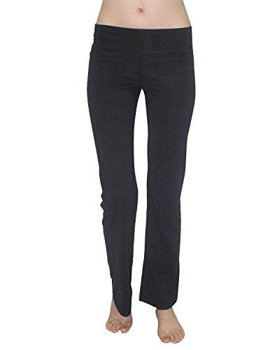 bally-total-fitness-damen-comfortable-lounge-pants-casual-wear-yoga-s-noir