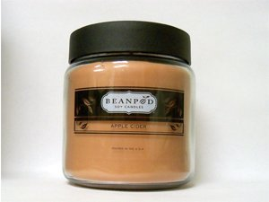 Beanpod Candle, Apple Cider 16 Oz
