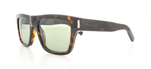 Yves Saint Laurent Yves Saint Laurent Bold 5/S Sunglasses-0086 Havana (5L Gray Green Lens)-52mm