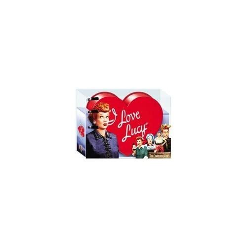 New Paramount Studio I Love Lucy The Complete Series 34 Discs Heart Shaped Packaging Television