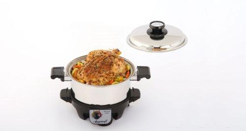 360 Pro ID004-GC-PRO Gourmet Slow Cooker, 4-Quart
