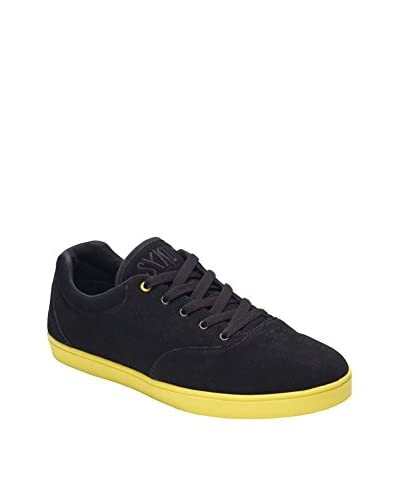 Sykum Sneaker Basic -Black Yellow [Nero/Giallo]