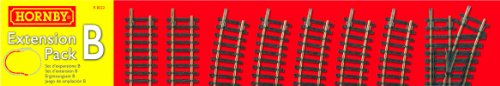 Hornby R8222 00 Gauge Track Extension Pack B