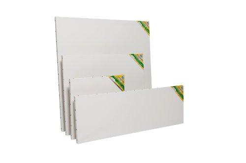 Lefranc & Bourgeois Peinture Chassis classique coton semence 4 paysage 33x22 cm Blanc (Une toile)