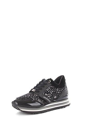 Apepazza RSD01 Sneakers Donna Eco-pelle/Tessuto Nero Nero 39