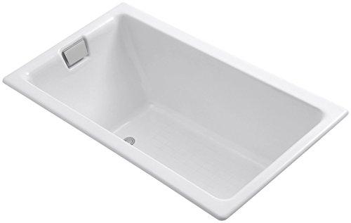 Kohler K-855-0 Tea-For-Two 5.5-Foot Bath, White