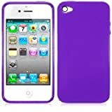 IPHONE 4 / IPHONE 4G GEL CASE / SKIN / COVER / SHELL / ARMOUR SOLID PURPLE BY BCW ACCESSORIES RANGEby BCW