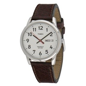 Timex Men's Brown Watch With White Dial