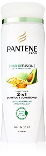 Pantene Nature Fusion Smooth Vitality 2-In-1 Shampoo & Conditioner 12.6 Fl Oz (Pack of 2) (packaging may vary) (Pantene Nature Fusion Conditioner compare prices)