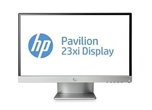 HP Pavilion 23xi, Ecran PC IPS LED, 23 pouces, Noir/Argent