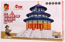 Beijing Temple Of Heaven Blocks 1052 Pcs Set In Huge Gift Box !! Compatible With Lego Parts! World'S Great Architecture Series back-469569
