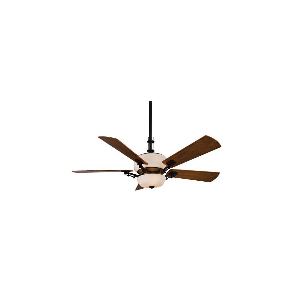 """Minka Aire Ceiling Fans F842BK VintageCraft Fan   Kathy Ireland Black Uplight Indoor Fan 54"""""""