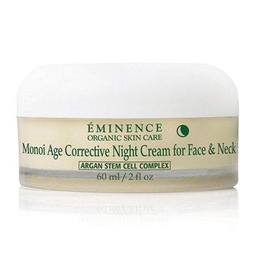 Crème Eminence Monoï âge correcteur nuit pour