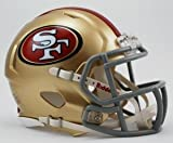 NFL San Francisco 49ers Revolution Speed Mini Helmet