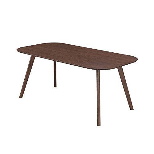 Terra table a manger 8 personnes 180x90 cm - bois naturel