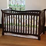 Child of Mine By Carter's Brookline 4-in-1 Fixed-side Crib, Chocolate