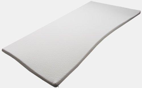 Boxspringbetten - Topper 180 cm x 200cm x 5cm Viscoelastische Matratzenauflage mit Bezug Härte 2 Visco Auflage Memory Matratze Gelschaum thumbnail
