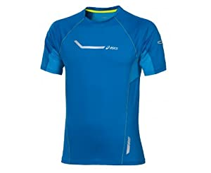 Asics Herren Laufshirt SS Stretch Top 331221-0843 XL, Skydiver, XL