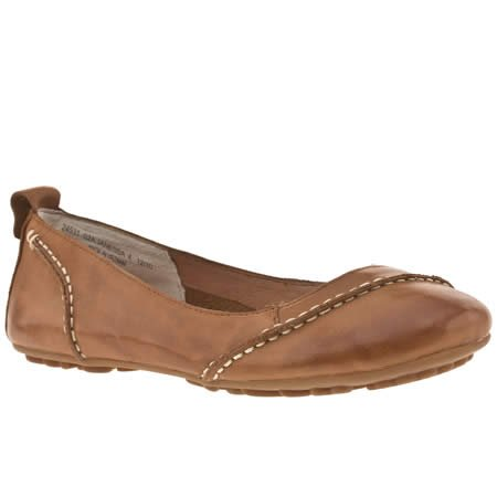 Hush Puppies Janessa - 8 Uk - Tan - Leather