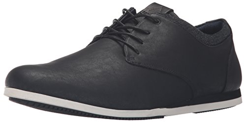 Aldo Men's Aauwen Fashion Sneaker, Black Leather, 10 D US (Shoes Aldo compare prices)