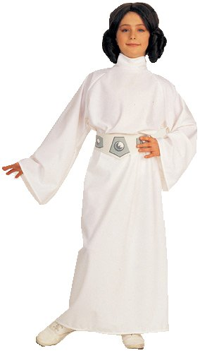 Star Wars Child'S Deluxe Princess Leia Costume, Large front-681179