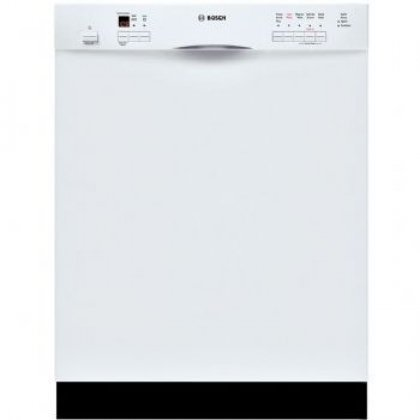 Bosch : SHE55M12UC 24 Evolution 500 Series Full Console Dishwasher - White