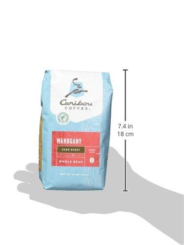 Caribou Coffee Mahogany Whole Bean, 12 Ounce Bag