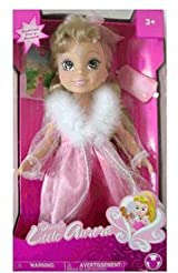 Large 15in Disney Bedtime Story Sleeping Beauty My Little Aurora Doll Playset