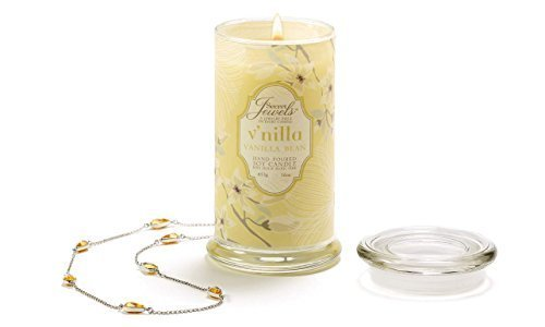 Secret Jewels Candle Jar, 16-Ounce, Vanilla Bean by Gift Craft
