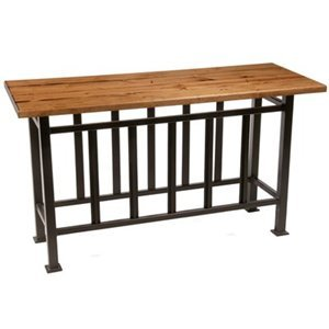 Cheap Stone Country Ironworks Mission Console Table in Distressed Pine 901-157-DPN (901-157-DPN)