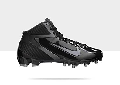 Nike Alpha Talon Elite 3 4 D Mens Football Cleats (Black Silver) 11 by Nike