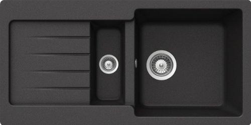 Schock Sp�le Typos D-150S Auflage, nero, TYPD150SAGNE