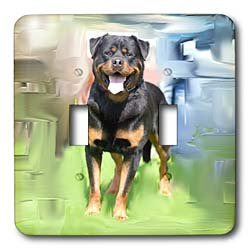 Rottweiler Light Switch Covers