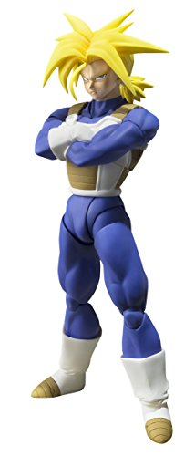 SH Figuarts Dragon Ball Z Super Saiyan Trunks Non Scale ABS&PVC Painted Action FigureBANDAI