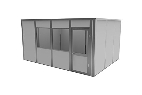 Porta-King VK3-1216AA4C Modular Office, VCDW, 16' Length x 12' Width x 8'2