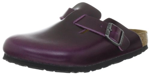 Birkenstock Boston Classic Slippers Womens Purple Violett (ANTIK MALVE) Size: 2.5 (35 EU)
