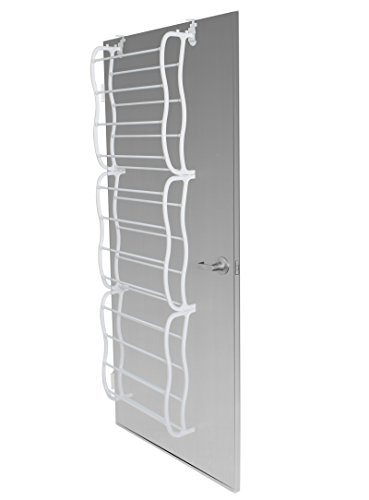 OxGord Shoe Rack for 36 Pair Over the Door Shelf Closet Wall Hanging Organizer Storage Stand (Over Door Metal Rack compare prices)
