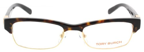 Tory Burch Tory Burch TY2018 Eyeglasses - 510 Dark Tortoise - 49mm